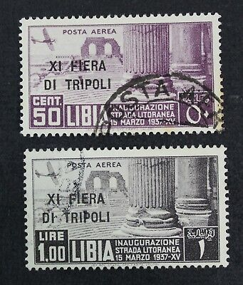 CKStamps: Italy Libia Stamps Collection Scott#C30 C31 Used