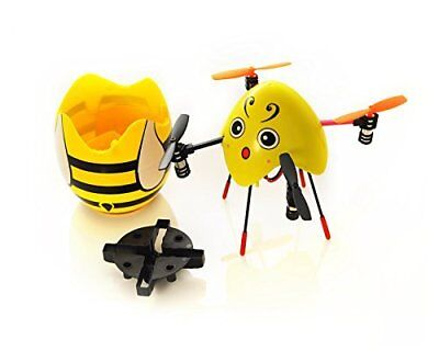 Mini Portable Bee Drone 2.4G 4CH 6 Axis Gyro 3D Flip RC Quadcopter w/ LED Light