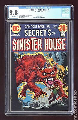 Secrets of Sinister House #8 1972 CGC 9.8 1396775015