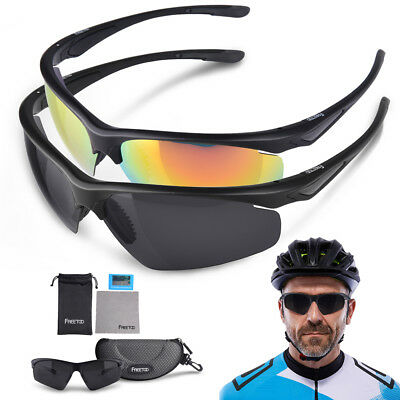 Polarized Sports Sunglasses Cycling Bike Glasses Driving Running Glasses Goggles