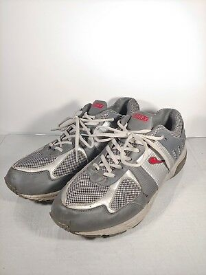 706a369e0a6fb NEW GDEFY BY GRAVITY DEFYER Men's Ion Shoes Charcoal/Lt Grey/Red ...