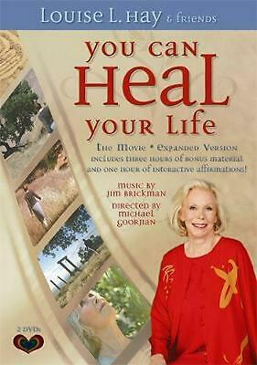 You Can Heal Your Life: The Movie (Long Edition) by Louise Hay (English) DVD-Vid