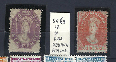 Australia (Tasmania)1865-1905 -21 classic mint* stamps incl. SG 69 very high cat