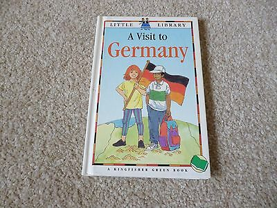 Vintage Book Kingfisher Little Library A Visit to Germany