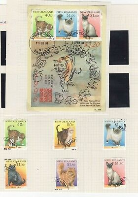 A very nice New Zealand 1998 group of issues with Booklet