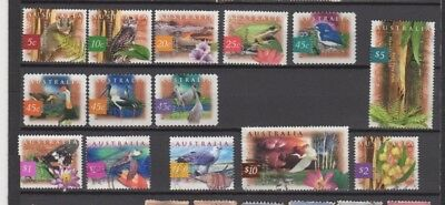 A very nice Australian Flora & Fauna group of issues to $10