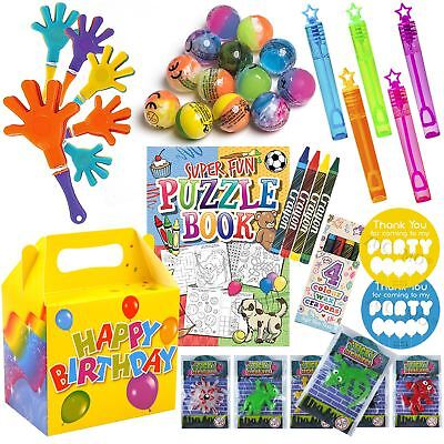 Kids Pre Filled Party Bags Boxes Birthday Party Bag Gifts For Children N265