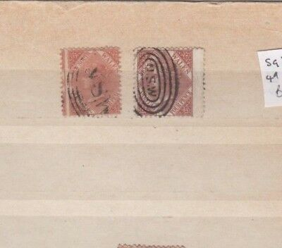 2 Nice New South Wales Pale Brown & Red Brown issues