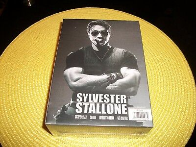 coffret 4 dvd, sylvester stallone, film action, neuf