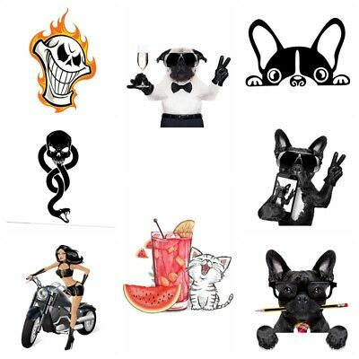 Heat Transfer Ironing on Printed Patches Stickers T-shirts DIY Patch Appliques
