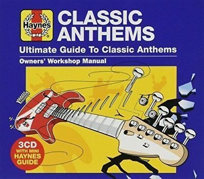 HAYNES ULTIMATE GUIDE TO CLASSIC ANTHEMS 3 CD SET (56 Classic Rock Anthems)