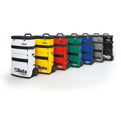 Beta Tools Special! Black Two Module Tool Trolley Great Toolbox Removable Box