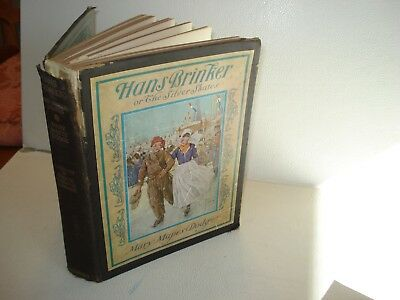 1926 HANS BRINKER or THE SILVER SKATES Mary Mapes Dodge George Wharton Edwards