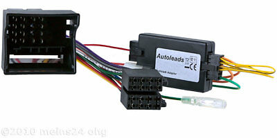 OPEL Agila PANASONIC Radio Adapter MOST Stecker Lenkrad Fernbedienung Interface