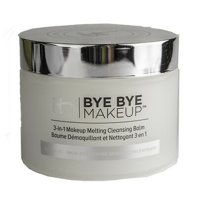 it Cosmetics Bye Bye Makeup 3-in-1 Makeup Melting Cleansing Balm 2.82oz SEALED