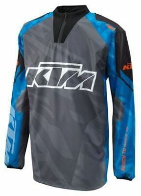KTM Hydoteq Jersey Blue Off-Road Motocross Motorcycle Shirt New RRP £62.22!!