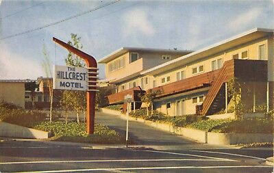 Postcard The Hillcrest Motel in Oakland, California~120150
