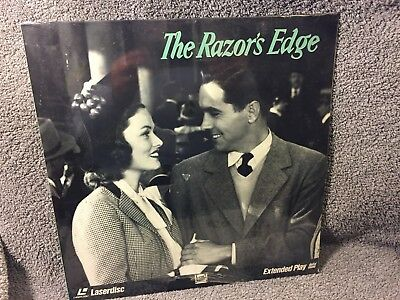 """Laser Disc """"The Razors Edge"""",Tyrone Power/Anne Baxter, 12"""" Disc Sealed"""