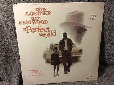 """Laser Disc """"A Perfect World"""",Kevin Costner/Clint Eastwood, 12"""" Disc Sealed"""