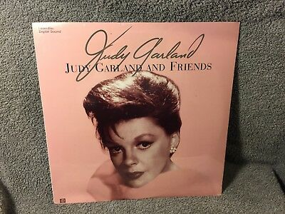 """Laser Disc """"Judy Garland and Friends"""" 12"""" Disc sealed NOS"""