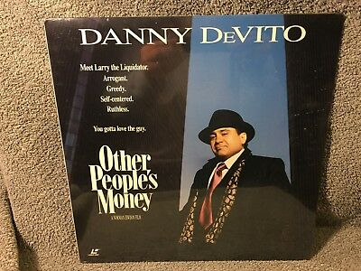 """Laser Disc """"Other Peoples Money"""",Danny DeVito 12"""" Disc Sealed"""