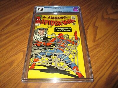 Amazing Spider-Man #25 CGC 7.5 First Cameo Appearance of Mary Jane Watson