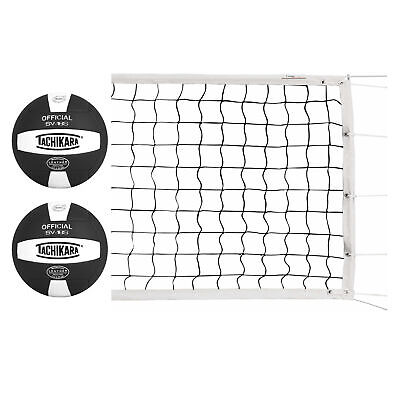 9bab796fff Olympic Power Volleyball Net (3 mm) Bundle with Composite leather  Volleyballs