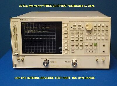 Agilent HP Keysight 8753ES Network Analyzer 3 GHz w/ Opt: H16 INTERNL REV.
