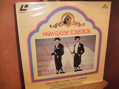 The Band Wagon - LASERVISION DISC - VERY RARE- Still sealed