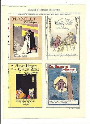 LARGE Collection Vintage COLOURED Punch Cartoons