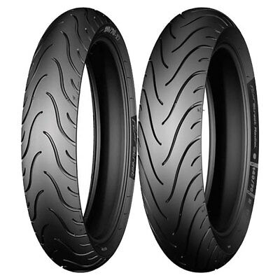Tire Set Michelin 80/90-16 48S + 130/70-17 62S Pilot Street