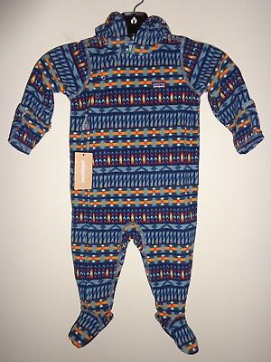 PATAGONIA Infant Micro D Fleece Bunting - 60175 - size 6-12m