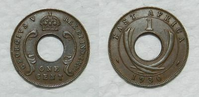 EAST AFRICA ONE CENT 1930 - aEF