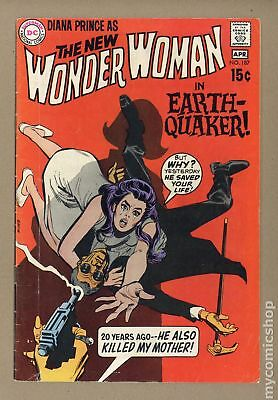 Wonder Woman (1st Series DC) #187 1970 GD/VG 3.0