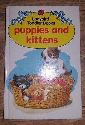 Ladybird Toddler Books - Puppies and Kittens - Series 833 - 1st edition