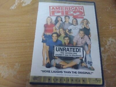 American Pie 2 Unrated Collector's Edition Widescreen Comedy Dvd Movie Film Disc