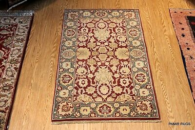 PERSIAN DESIGN HAND KNOTTED 3'x5' Beautiful handmade rugs from India multi color