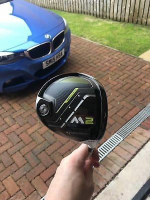Driver  Taylormade m2 10.5 degree driver aldila rogue black stiff mint