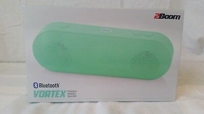 2BOOM WIRELESS BLUETOOTH Speaker, Mini Bass King, Outdoor Speaker