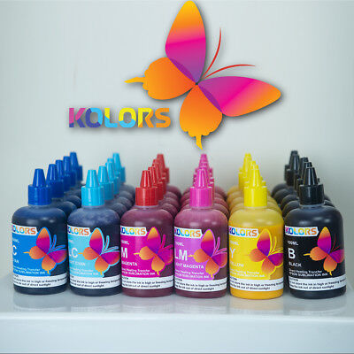 KOLORS Dye Sublimation Ink for Epson Printer 100ml 5 STAR