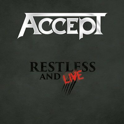 Accept Restless and Live Blind Rage 2 CD / 1 DVD