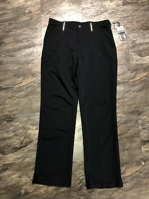 NEW Under Armour Cold Black Golf Pants 34 X 32