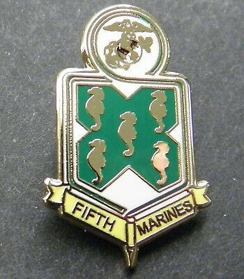 Us Marine Corps 5Th Marines Regiment Lapel Pin Badge 1 Inch Usmc