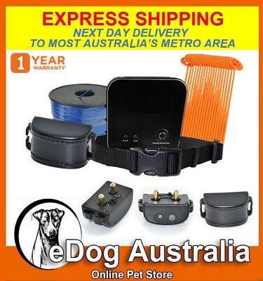 Electric Wireless Waterproof Invisible Dog Fence System Electric Training Collar