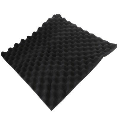 Acoustic Soundproof Sound Thick Absorption Studio Pyramid Foam Board 50x50x3cm