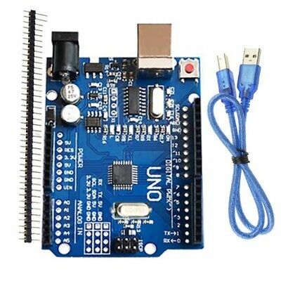 For Arduino UNO R3 ATmega328P CH340G Development Board  USB Cable