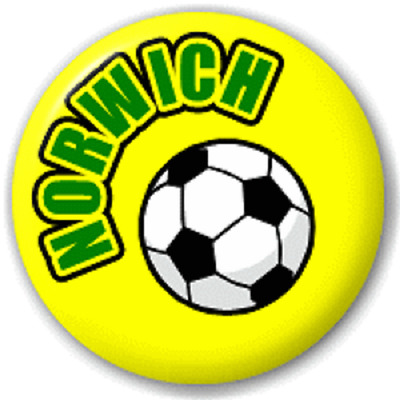 Norwich Football – 25 Mm Pin Button Badge