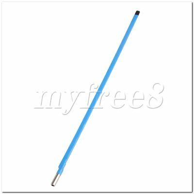 Steel Guitar Two Way Adjust Truss Rod 460mm Long 9mm Dia Blue for Guitar Bass