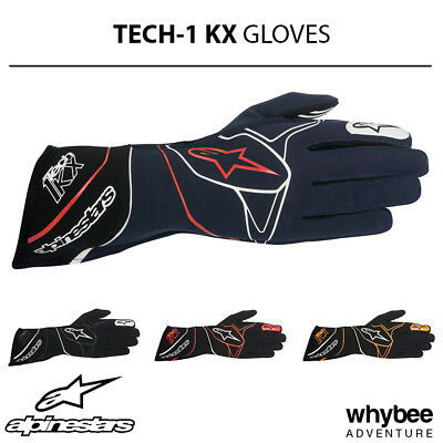 3551817 Alpinestars 2019 TECH-1 KX Kart Racing Gloves - Top of the Range Model!