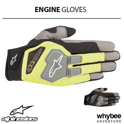 3552519 Alpinestars 2019 ENGINE Race Mechanic Gloves Pitcrew Workshop Garage
